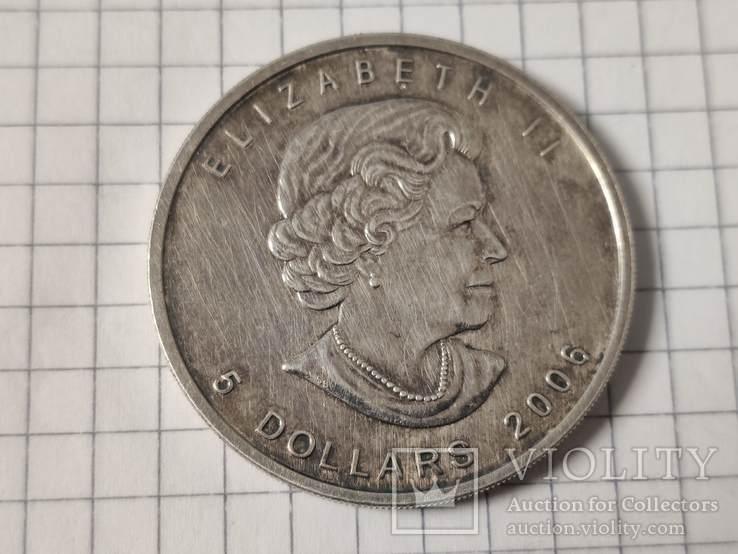 5 dollars 2006 год, фото №2
