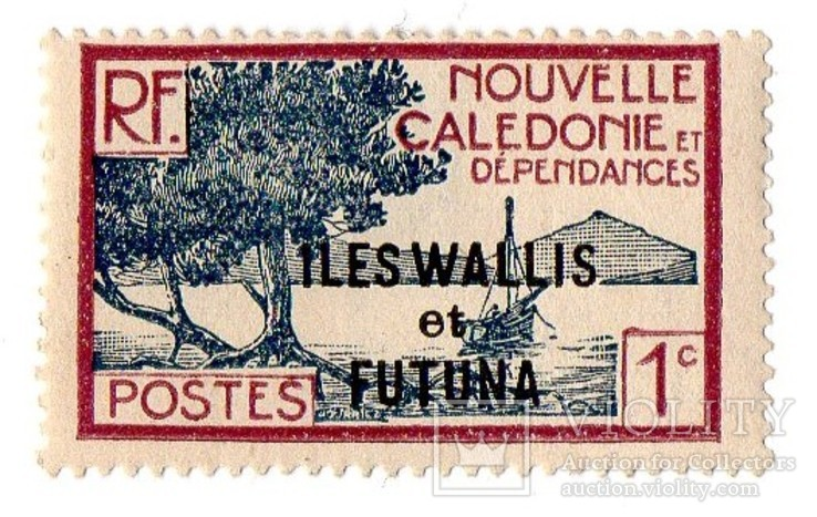 "1930 -1938 New Caledonia Postage Stamps of 1928 Overprinted ""ILES WALLIS - et - FUTUNA"", фото №2"