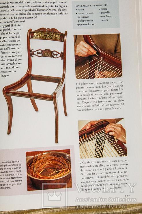 Реставрация мебели. Итальянское издание, фото №8