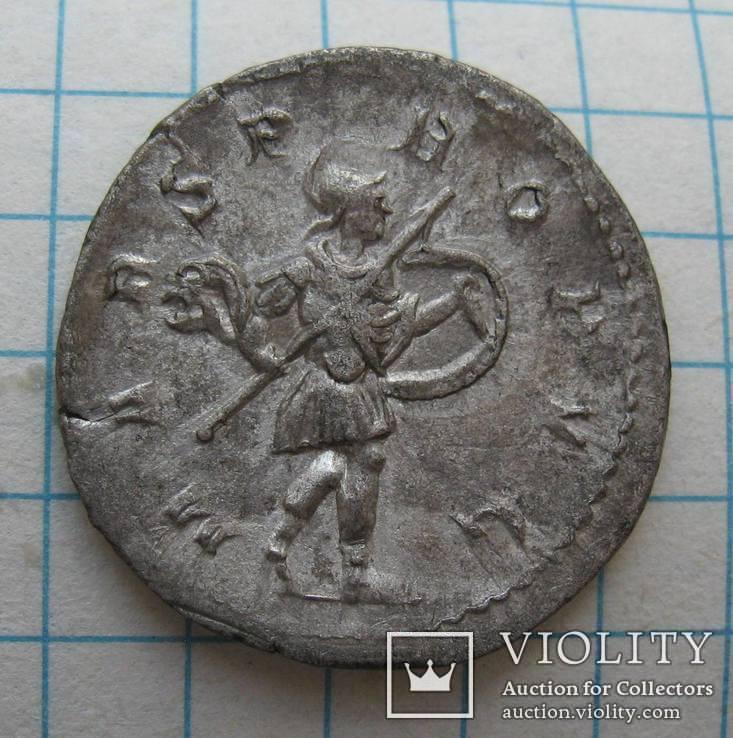Антониниан Гордиан III (243-244 год н.э.) MARS, фото №2