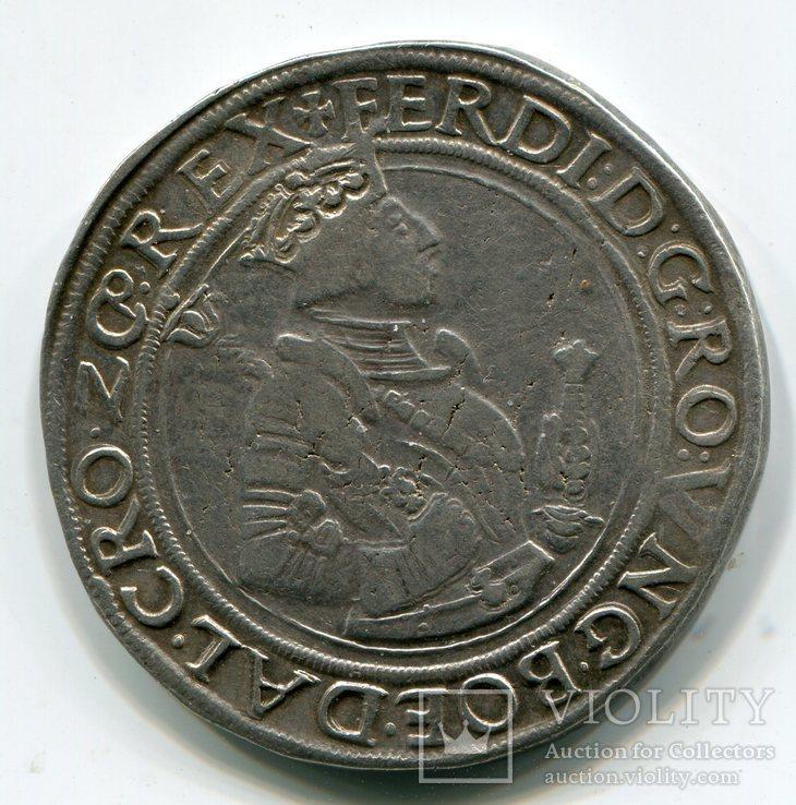 Талер 1530 г. Фердинанд I  1521-1564 гг. Австрия