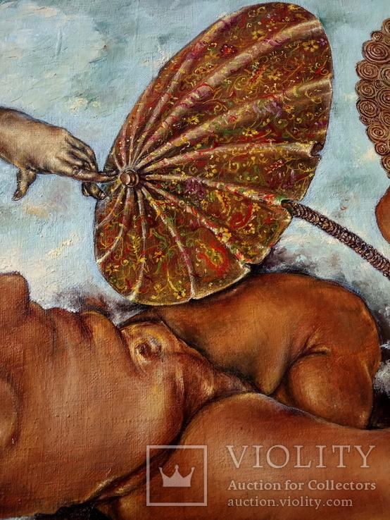 Ігри з парасолькою , Ven Olega відомий художник, фото №4