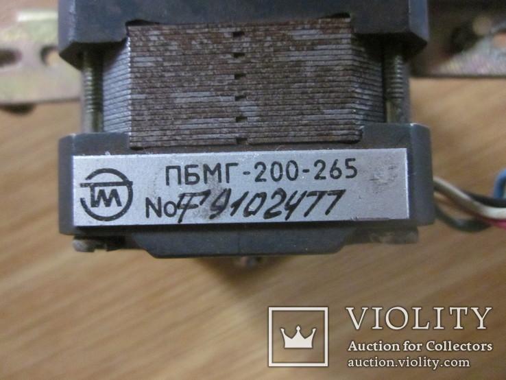 Шаговый двигатель ПБМГ-200-265, фото №3