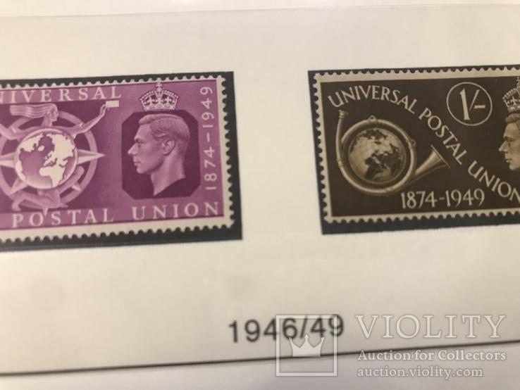 Марки Великобритании. 1946-1949 года., фото №3