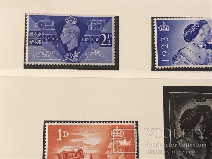 Марки Великобритании. 1946-1949 года., фото №5