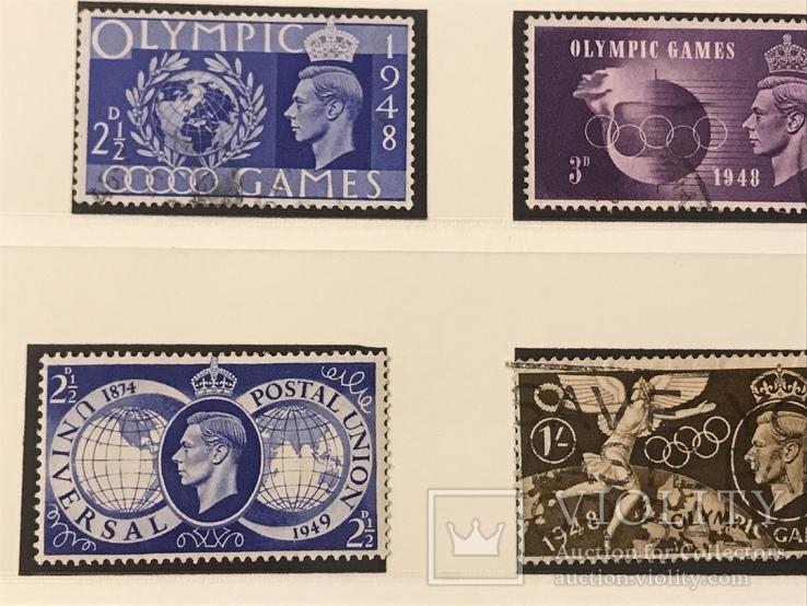 Марки Великобритании. 1946-1949 года., фото №6