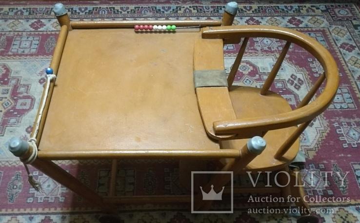 Старинные детские ходули-стол-стул трансформер, фото №9