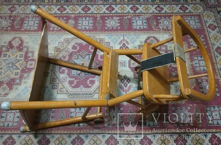 Старинные детские ходули-стол-стул трансформер, фото №10