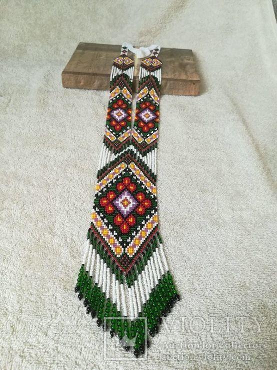 Украшение из бисера, Гердан ′вышиванка до вышиванки′, фото №2