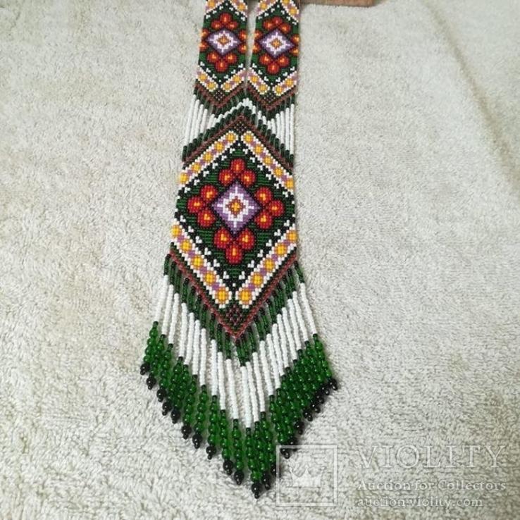 Украшение из бисера, Гердан ′вышиванка до вышиванки′, фото №3