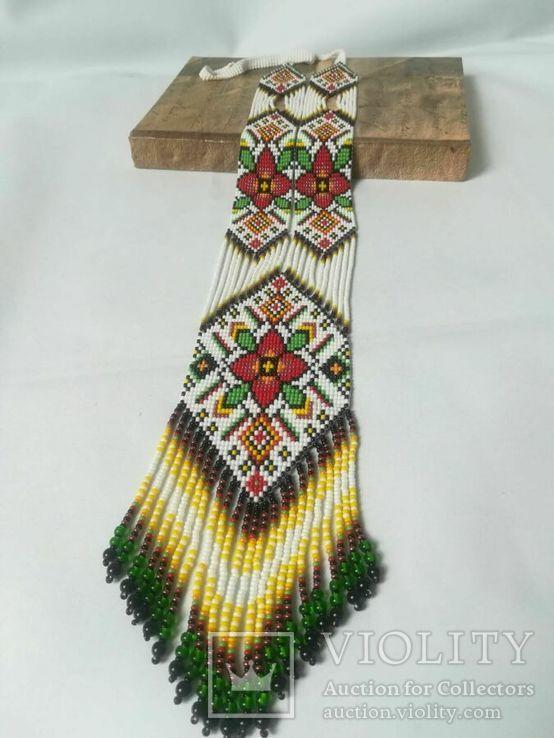 Украшение в украинском стиле, Гердан - оберег ′Цветок силы′, фото №3