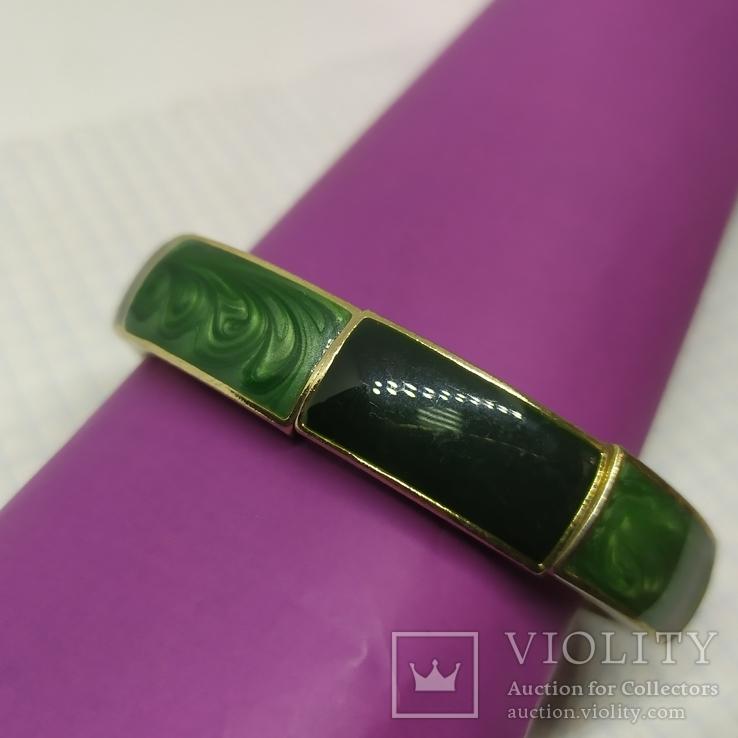 Браслет со звеньями зеленого цвета (2), фото №3