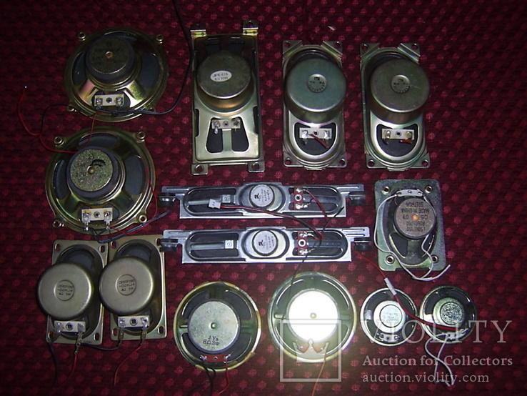 Динамики разные 14 шт., фото №2