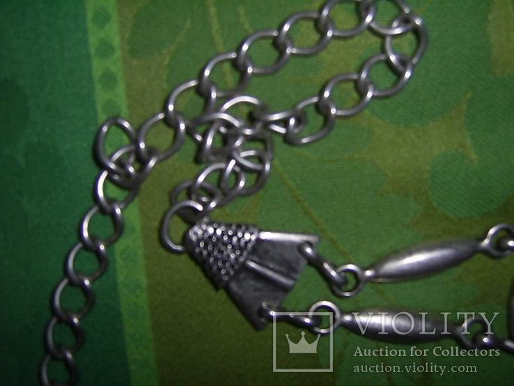 Пояс из тяж.металла в скандинавском стиле - реконструктору, фото №11
