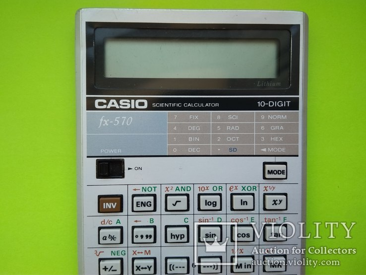 Калькулятор. Casio / Япония, фото №8