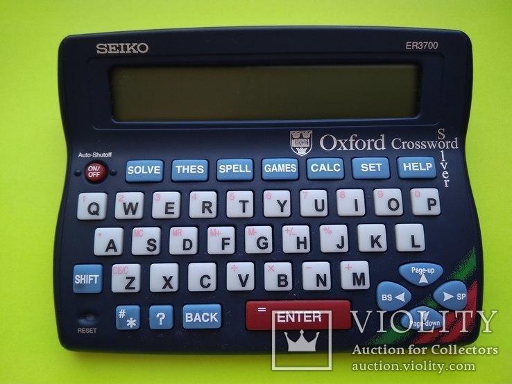Oxford Crossword Solver / Оксфордский кроссворд, фото №3