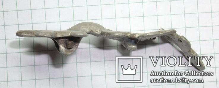 Серебряная фибула периода ЧК/ПК., фото №6