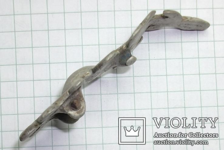Серебряная фибула периода ЧК/ПК., фото №7
