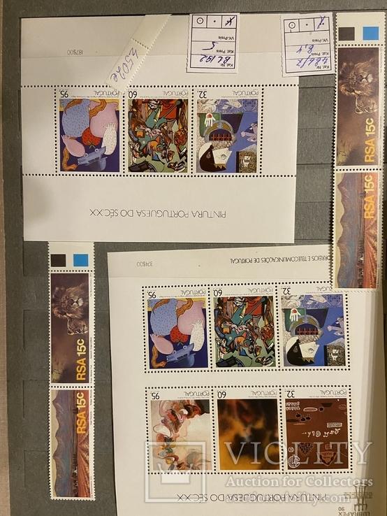 Колекція чистих блоків Португалії, фото №2