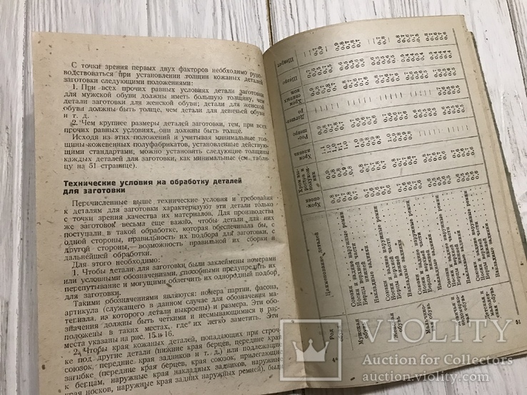 1936 Обувь: Производство заготовок для обуви, фото №9
