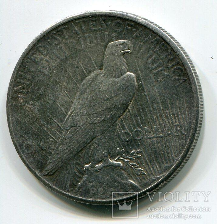 Мирный доллар 1926 г. Серебро., фото №3
