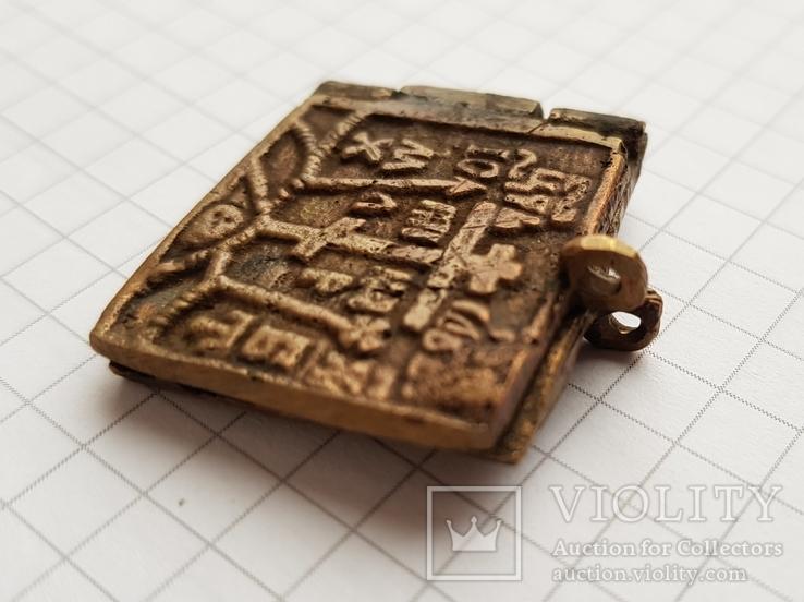 Складень бронза, фото №7