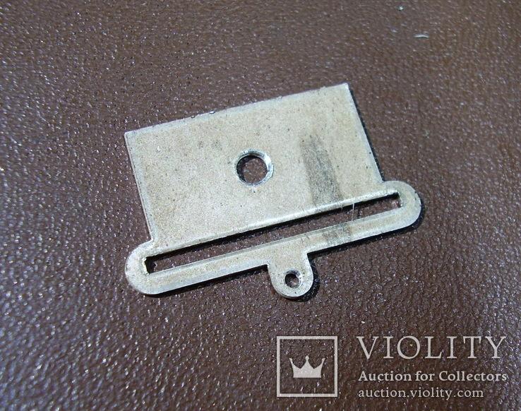 Пластина на колодку(серебро), фото №3