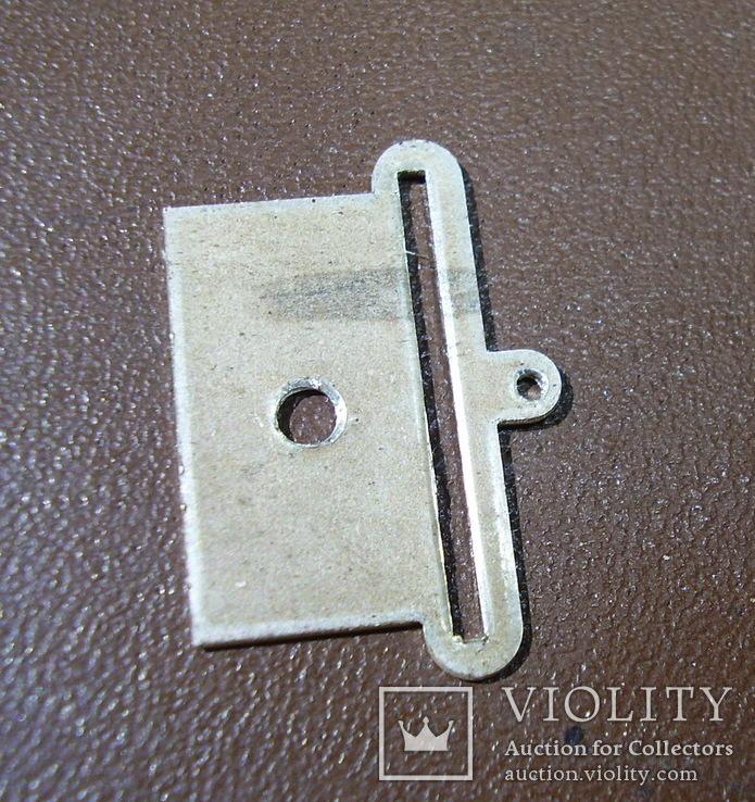 Пластина на колодку(серебро), фото №4