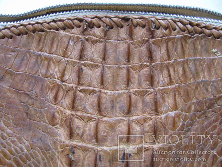 Сумка.кожа крокодила.ручная работа.винтаж, фото №6