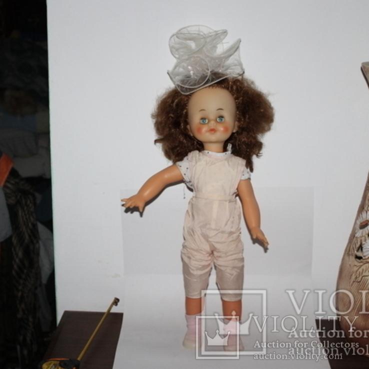 Кукла СССР 55 сантиметров клеймо, фото №2