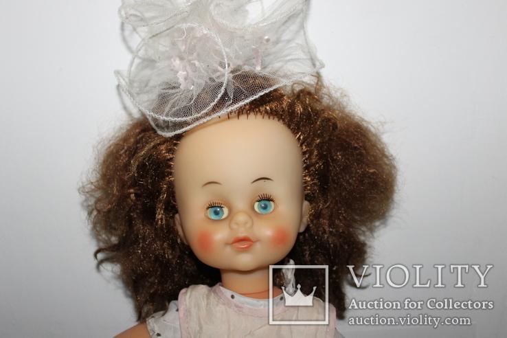Кукла СССР 55 сантиметров клеймо, фото №3