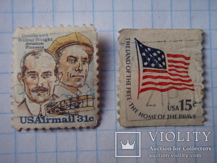 Три марки Америки., фото №5