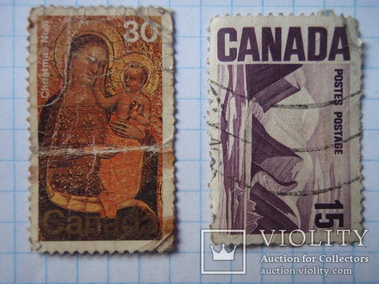 Дві марки Канади., фото №2
