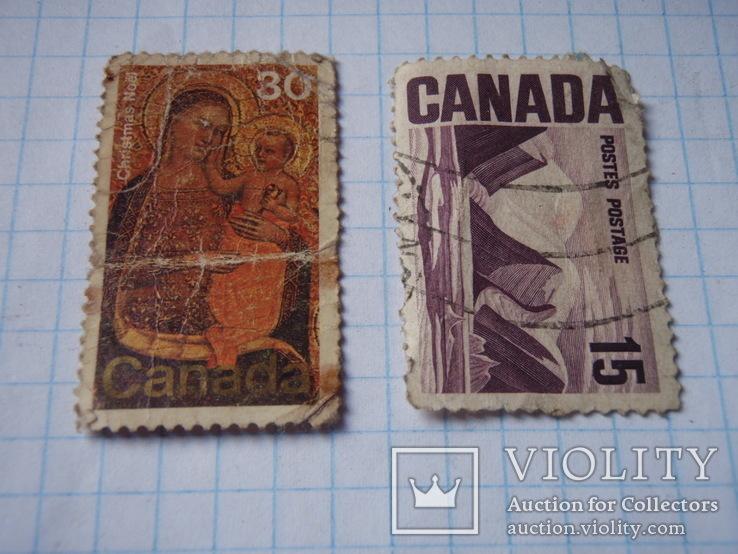 Дві марки Канади., фото №3