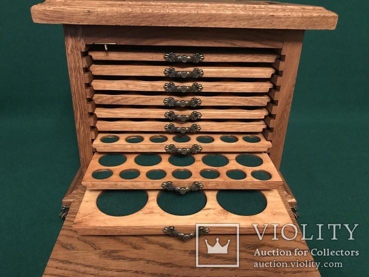 Мюнцкабинет для 173 монет (серия Мадер), фото №5