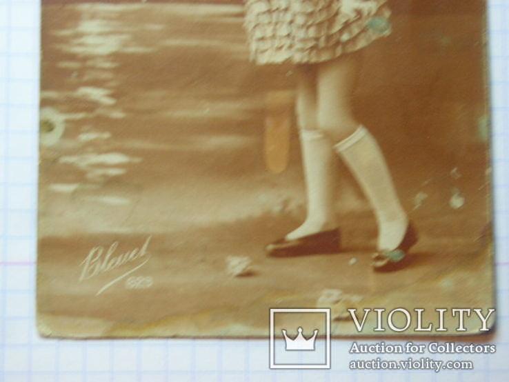 Старинная открытка Франция Ваша цена, фото №5