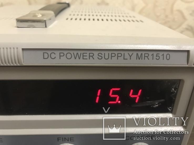 Лабораторный блок питания Masteram MR1510, фото №8