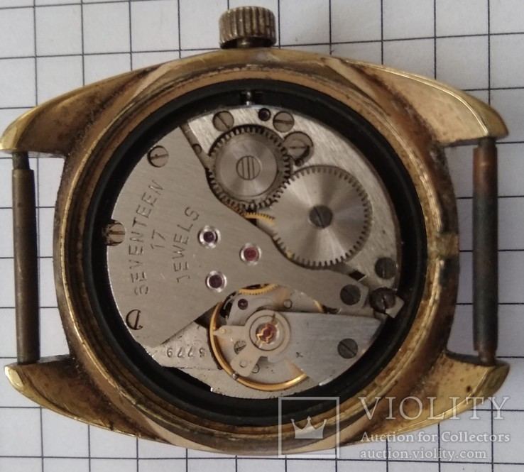 Часы Poljot 17 jewels AU10, фото №4