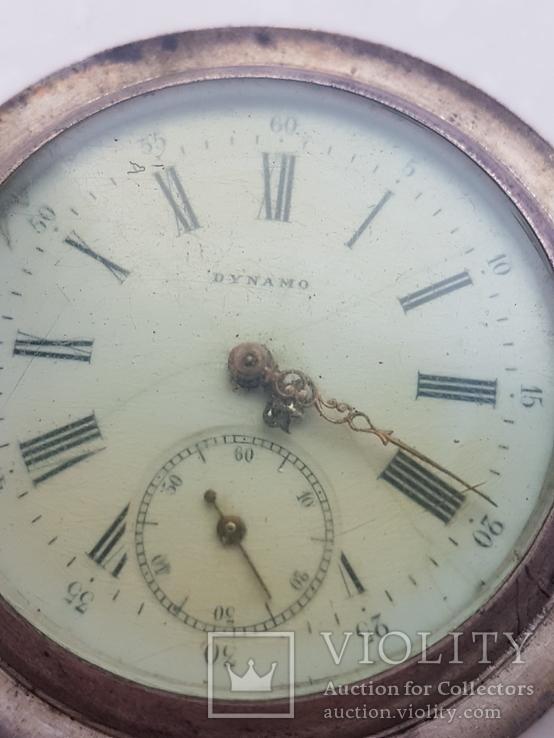 Часы карманные 84* Швейцария Dynamo на ходу, фото №13