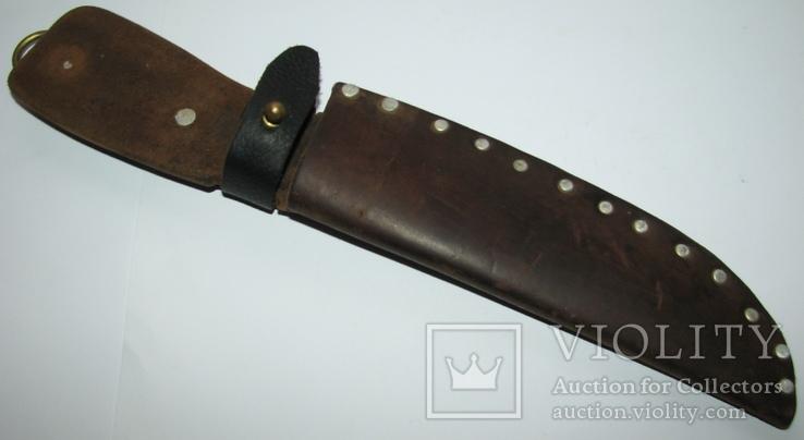 Ножны для большого ножа ручная работа кожа СССР