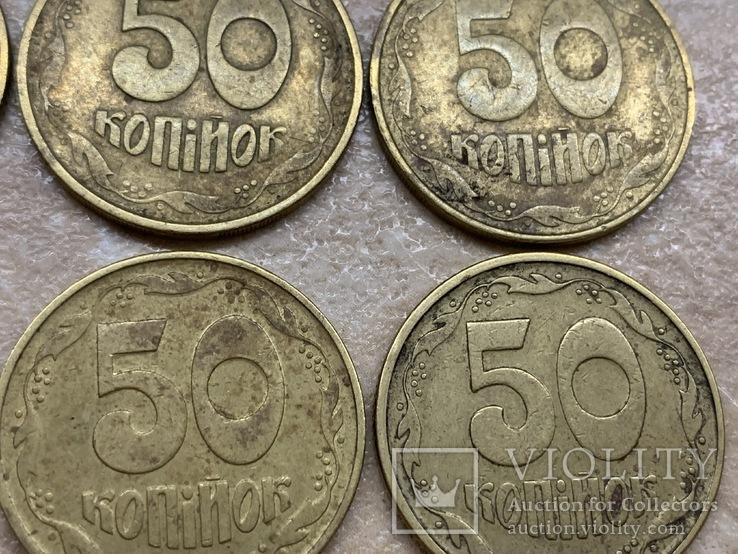 50 копеек . Украина ., фото №10