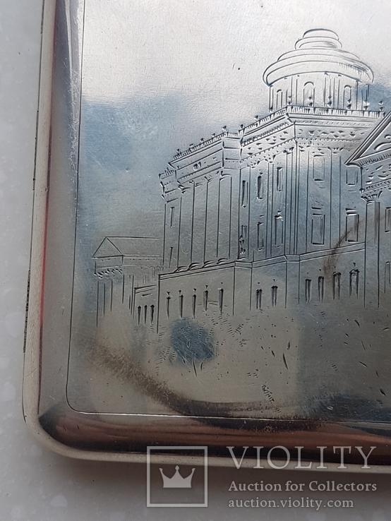 Портсигар СССР серебро 875*, фото №5