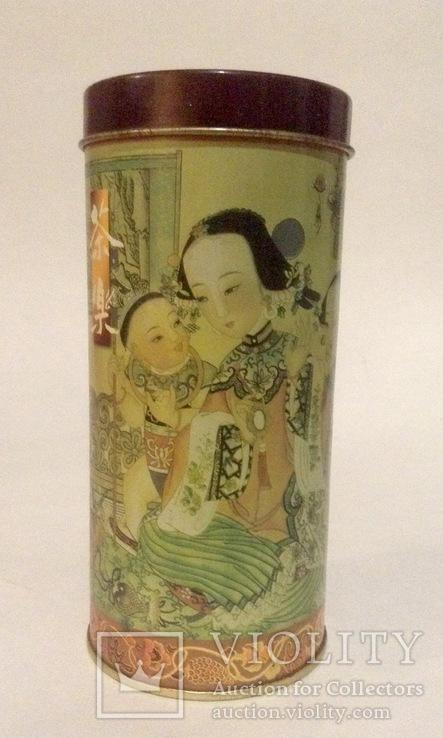 Коробка от чая.  Металл, жесть. Китай., фото №2