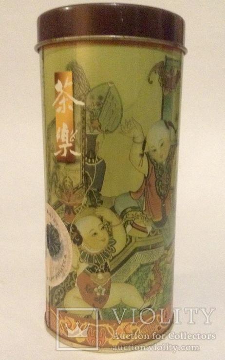 Коробка от чая.  Металл, жесть. Китай., фото №4