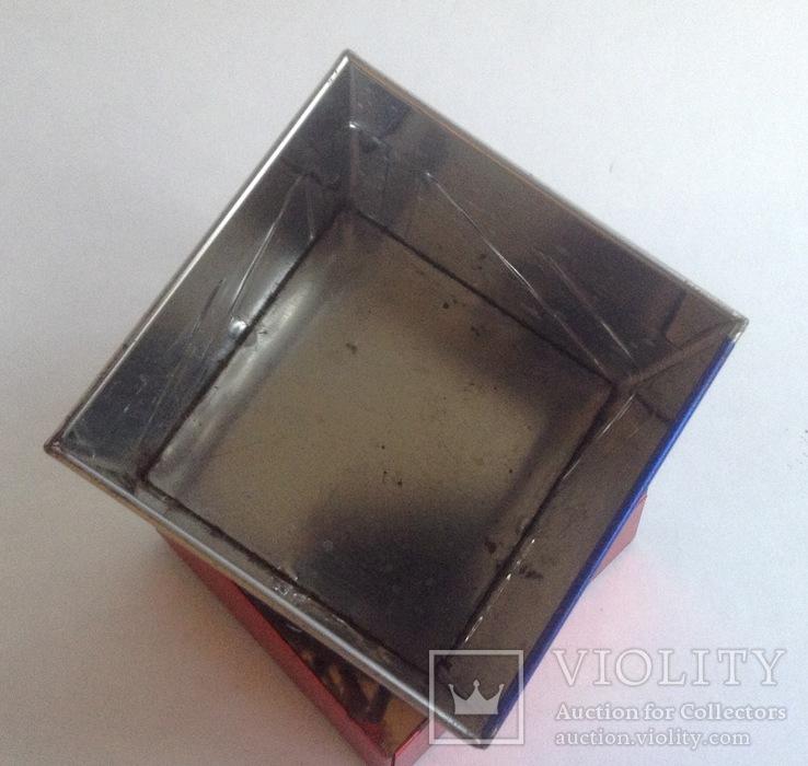 Коробка от чая LONDON.  Металл, жесть., фото №7