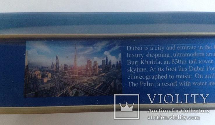 Коробка от конфет Дубай. Металл, жесть., фото №4