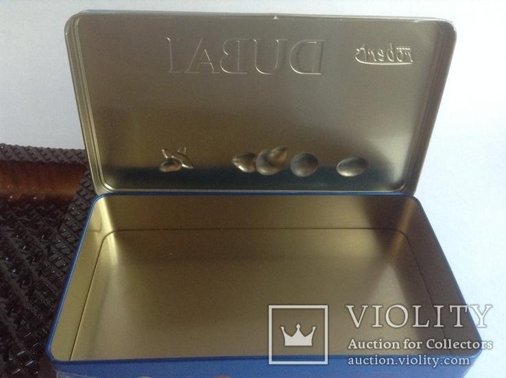 Коробка от конфет Дубай. Металл, жесть., фото №7