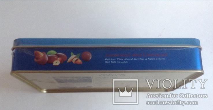 Коробка от конфет Дубай. Металл, жесть., фото №9