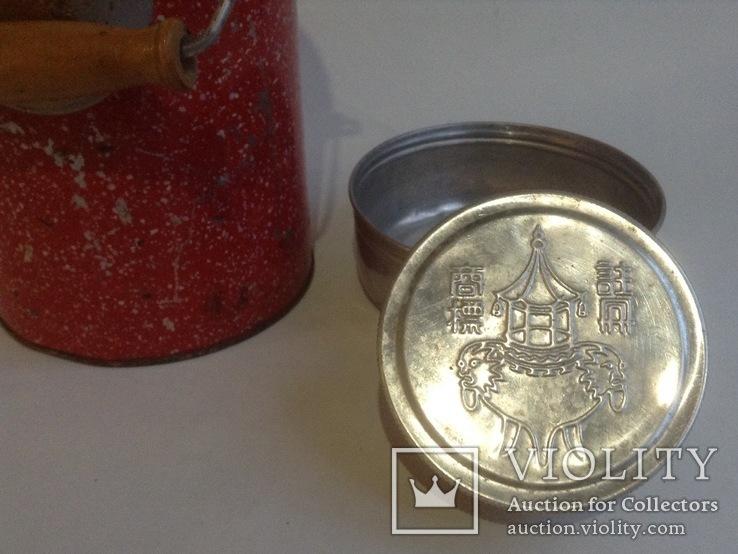 Термос (стеклянная колба). Алюминий, металл. Для первых и вторых блюд., фото №4