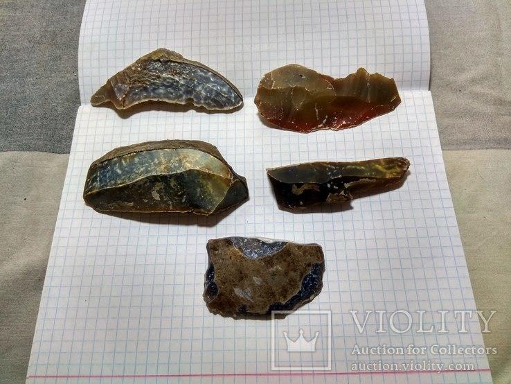 Кремнієві ножі доби палеоліту, фото №2